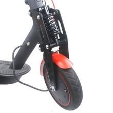 スクーターフロントサスペンションキットxiaomi mijia M365鳥miおよびM365プロ電動スクーターのフロントチューブ衝撃吸収部品