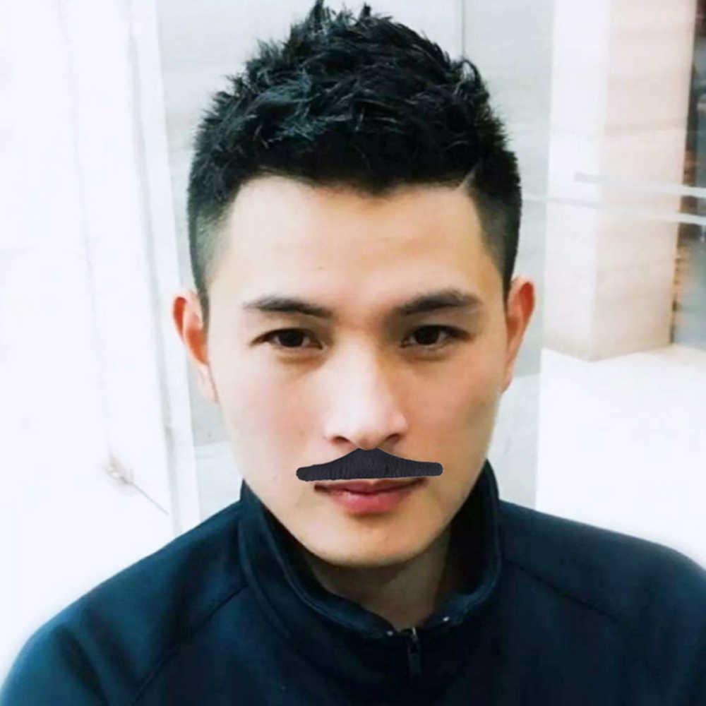 Halloween wąsy Cosplay fałszywe broda dla dzieci dorosłych wystrój, nowość fałszywe wąsy, samoprzylepne wąsy