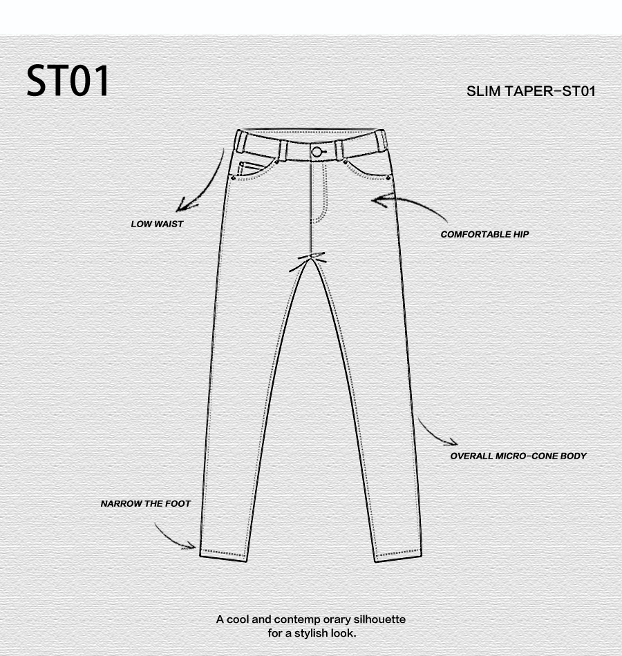 SIMWOOD 2020 New Jeans Men Classical Jean High Quality Straight Leg Male Casual Pants Plus Size Cotton Denim Trousers  180348 19