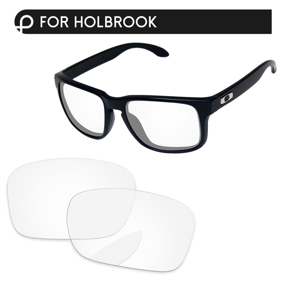 Papaviva Crystal Clear Replacement Lenses For Authentic Holbrook Sunglasses Frame 100% UVA & UVB Protection
