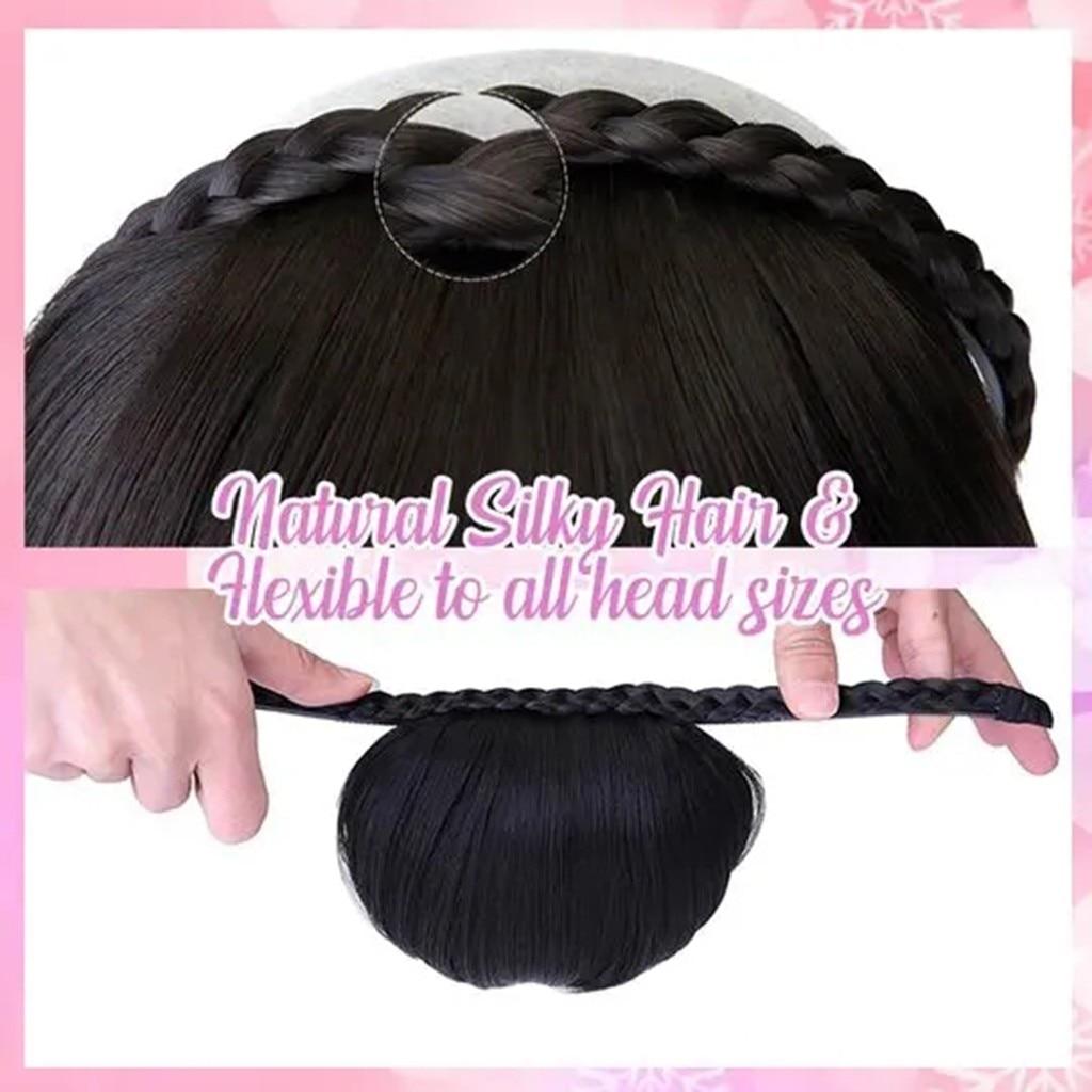 Wedding Twisted Wig Headband Hair Bands Hair Accessories Braided Headband