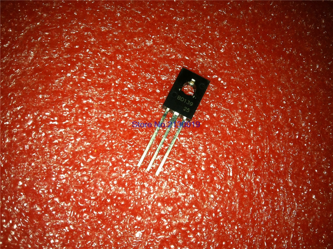 10pcs/lot BD139 139 TO-126 In Stock