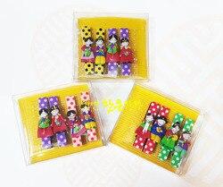 Koreaanse Geïmporteerd kinderen Haarspelden 4 Prijzen Kleur Willekeurige Verzending Haar Clips voor Vrouwen Koreaanse Meisjes Hoofdbanden Barrette
