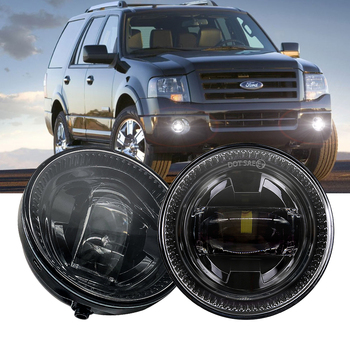 Fog Lights  for Ford F150 Ranger Expedition Approved by DOT SEA Waterproof Bright LED Fog Driving Light Off Road Lights