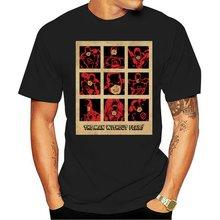 Брендовая летняя новая мужская футболка с коротким рукавом от