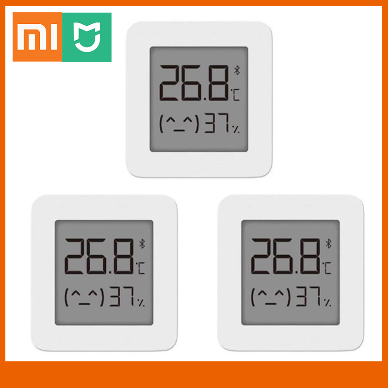 New Xiaomi Mijia Bluetooth Thermometer 2 Wireless Smart Electric Digital Hygrometer Thermometer Work With Mijia APP