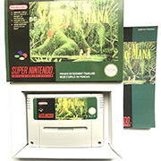 Secret of Mana with box 16bit  game cartidge for pal console