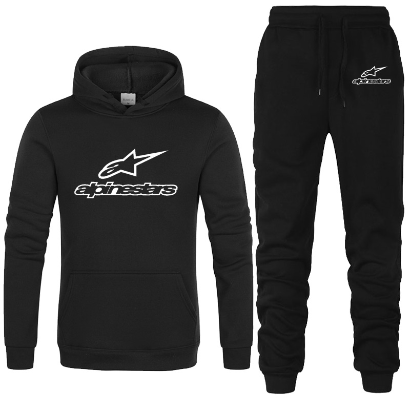 Men's Sets Brand Sportswear Tracksuits Sets Men's Clothes Sporting Hoodies+Pants Sets Casual Outwear Sports Suits Men Hoodie