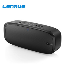 LENRUE Bluetooth Speaker, Wireless Portable Speaker with Loud Stereo Sound, Rich Bass, 12-Hour Playtime, Built-in Mic, Music box