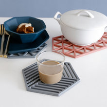 1 шт силиконовый Настольный коврик подставки под чашки термостойкие