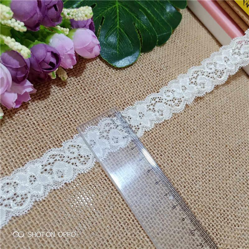 * 2.8 centimetri S1873 nuovo di alta qualità pizzo elastico con rifiniture in pizzo cucito decorativo tessuto Africano del merletto