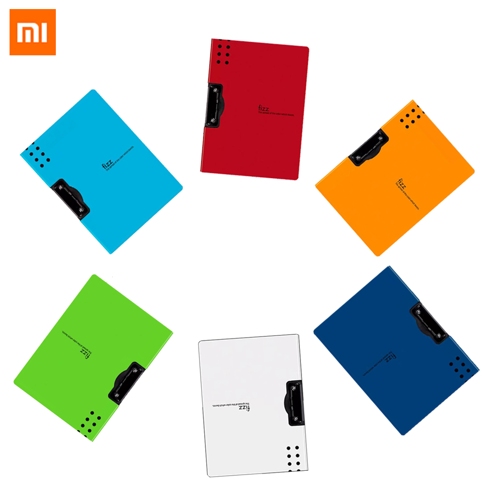Xiaomi Fizz Horizontal A4 Folder Matte Texture Folder Portable Pad Portable Pen Tray Office Metting File Pocket School Supplies