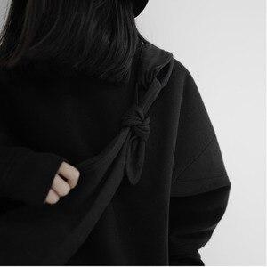 Image 5 - Lanmrem 2020 yamamoto estilo preto escuro único produto simples bolsa de ombro mensageiro cor sólida moda masculina e feminina 19b a242