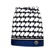 Новая женская юбка для гольфа, Комбинированная женская летняя дышащая юбка для гольфа, мини льняные юбки