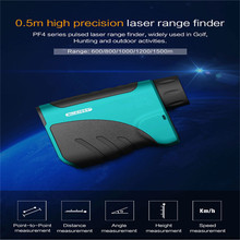 Mileseey PF04 600M 800M 1000M 1200M 1500M laser range finder High-precision telescope Golf hunting 6 measurement mode