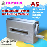 DUOFEN die cutting machine A5 150mm 6inch cutting dies embossing leather fabric cutting for DIY Scrapbook Paper Album 2019 new