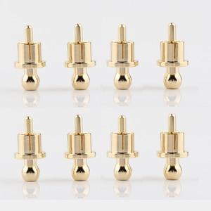 Image 1 - Gold Plated RCA Cap Plug Short Circuit Socket, Phono Connector RCA Shielding Jack Socket Protect Cover Caps