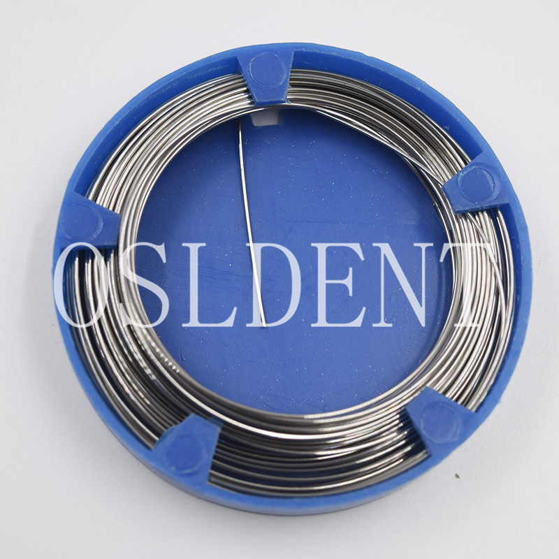 0.8 Mm Dental Orthodontic Stainless Steel Wire Dentist Surgical Instruments Quantity Optional