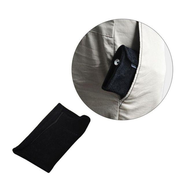 Портативный мешок для табачных мешков мундштук из натуральной кожи, инструмент для снортера, соломенный чехол с капюшоном, сумка для трубок...