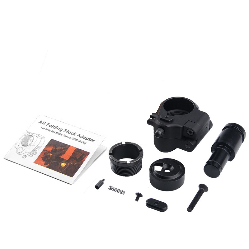 MAGORUI Tactical AR Folding Stock Adapter for M16/M4 SR25 Series GBB(AEG) Hunting Accessories(China)