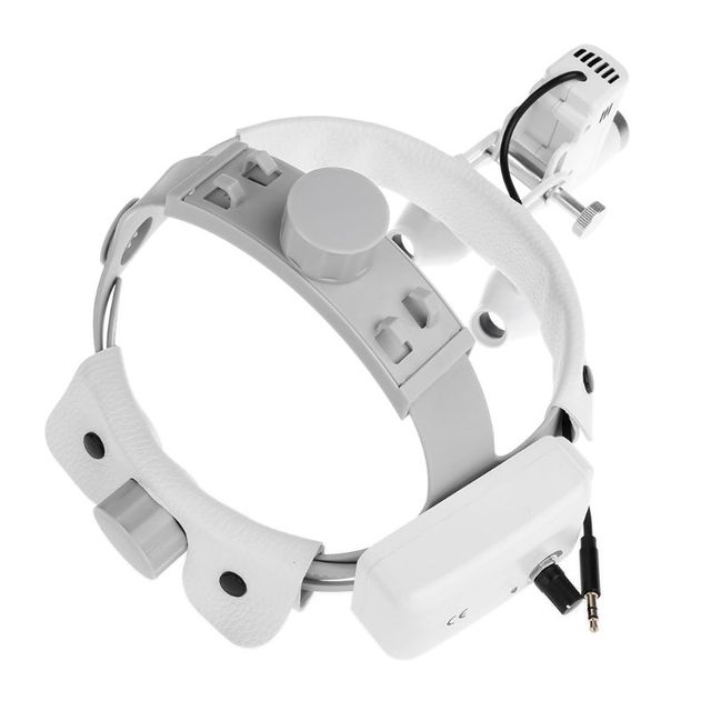 3.5X Magnify High Intensity LED Light Headlight Headband Loupe Binocular Magnifier Loupes Rechargeable