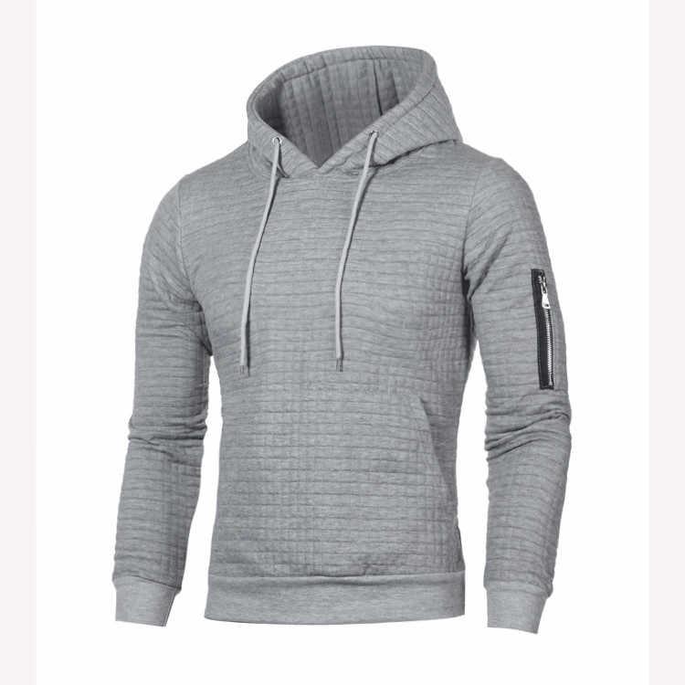 JODIMITTY 2020 스웨터 남성 단색 Pullovers 남성 캐주얼 후드 스웨터 가을 겨울 따뜻한 Femme 남성 의류 슬림 맞는 점퍼