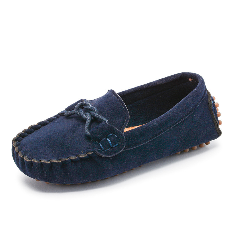 JGVIKOTO Boys Girls Shoes Fashion Soft Kids Loafers Children Flats Casual Boat Shoes Children's Wedding Moccasins Leather Shoes