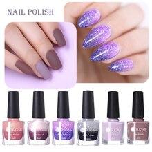 UR SUGAR 6 ML Colors Glitter Nail Polish Temperature Color Changing Gradient Mirror Varnish No Need Lamp for Nails Art