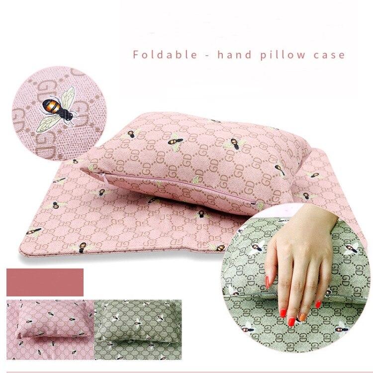 Купить складная подушка для рук мягкий чехол из искусственной кожи