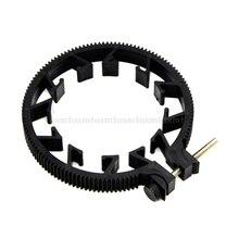 1 anillo de engranaje ajustable para correa de enfoque de seguimiento 65 ~ 75mm para lente DSLR Mod 0,8 N08 19 Dropship