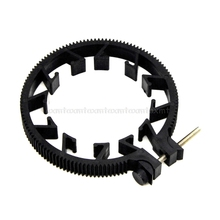 1PC Adjustable Gear Ring For Follow Focus Belt 65~75mm For DSLR Lens Mod 0.8 N08 19 Dropship