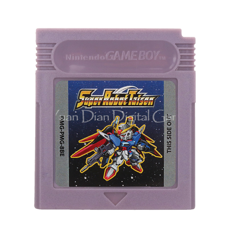 For Nintendo GBC Video Game Cartridge Console Card Super Robot Taisen English Language Version