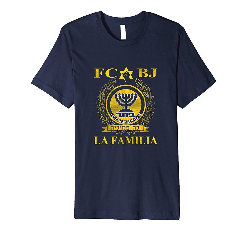 Camiseta Premium de La Familia Beitar Soccer Footballer 2019 los más nuevos hombres camisetas divertidas de La banda clásica de La moda camisetas