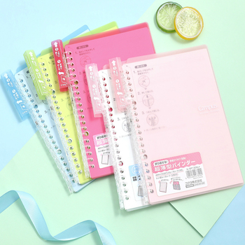 1 pc KOKUYO Smart Notebook With Pastel Strip Cover Suitable For Travelers