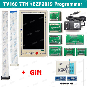 Image 1 - TV160 7th TV Mainboard Tester Tools LCD Display Vbyone LVDS to HDMI Converter + 7 Adapters Panels