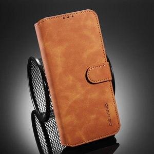 Honor V30 widok 30 etui z klapką Retro skórzany luksusowy portfel dla Huawei Honor widok 30 Pro etui Honor widok 30 etui View30 V 30 Fundas