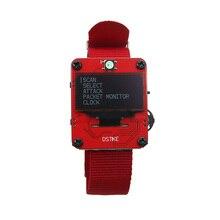 DSTIKE WiFi Deauther Браслет Смарт часы носимые ESP8266 макетная плата для Arduino черный оранжевый