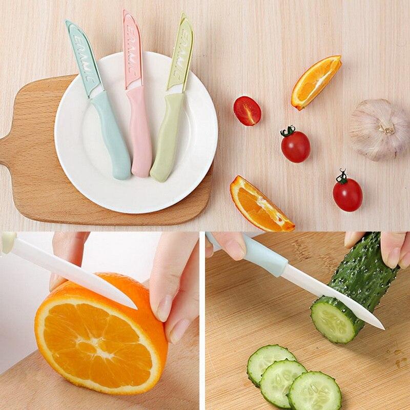 Новинка, 1 шт., мини Керамический нож для хлеба, ручка, керамический нож для очистки овощей, бытовой нож для очистки фруктов, кухонные ножи, ак...