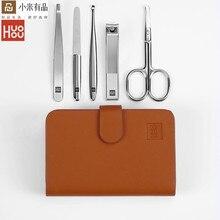 Youpin Huohou cortaúñas de acero inoxidable, cortador de pelo de nariz, Kit de higiene de viaje portátil, juegos de herramientas para xiaomi mijia