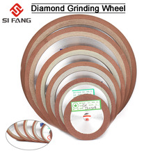 цена на 75/80/100/125mm 150Grit diamond grinding disc sharpening Diamond Grinding Wheel  for Tungsten Steel Milling Tool  Carbide Metal