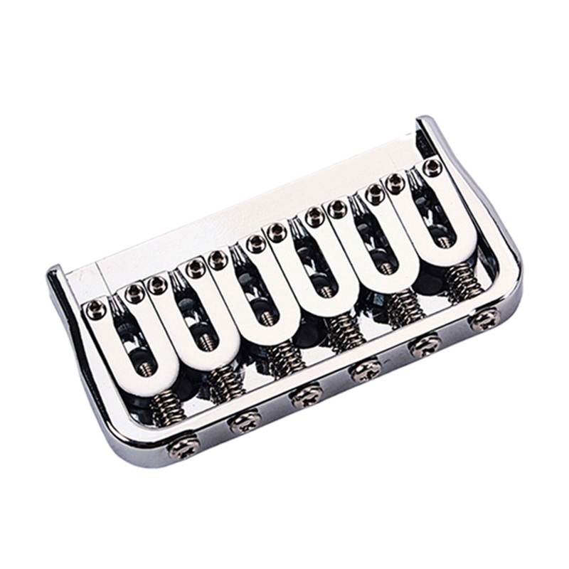 6-String Electric Guitar Saddle Bridge / Metal Fixed Bridge
