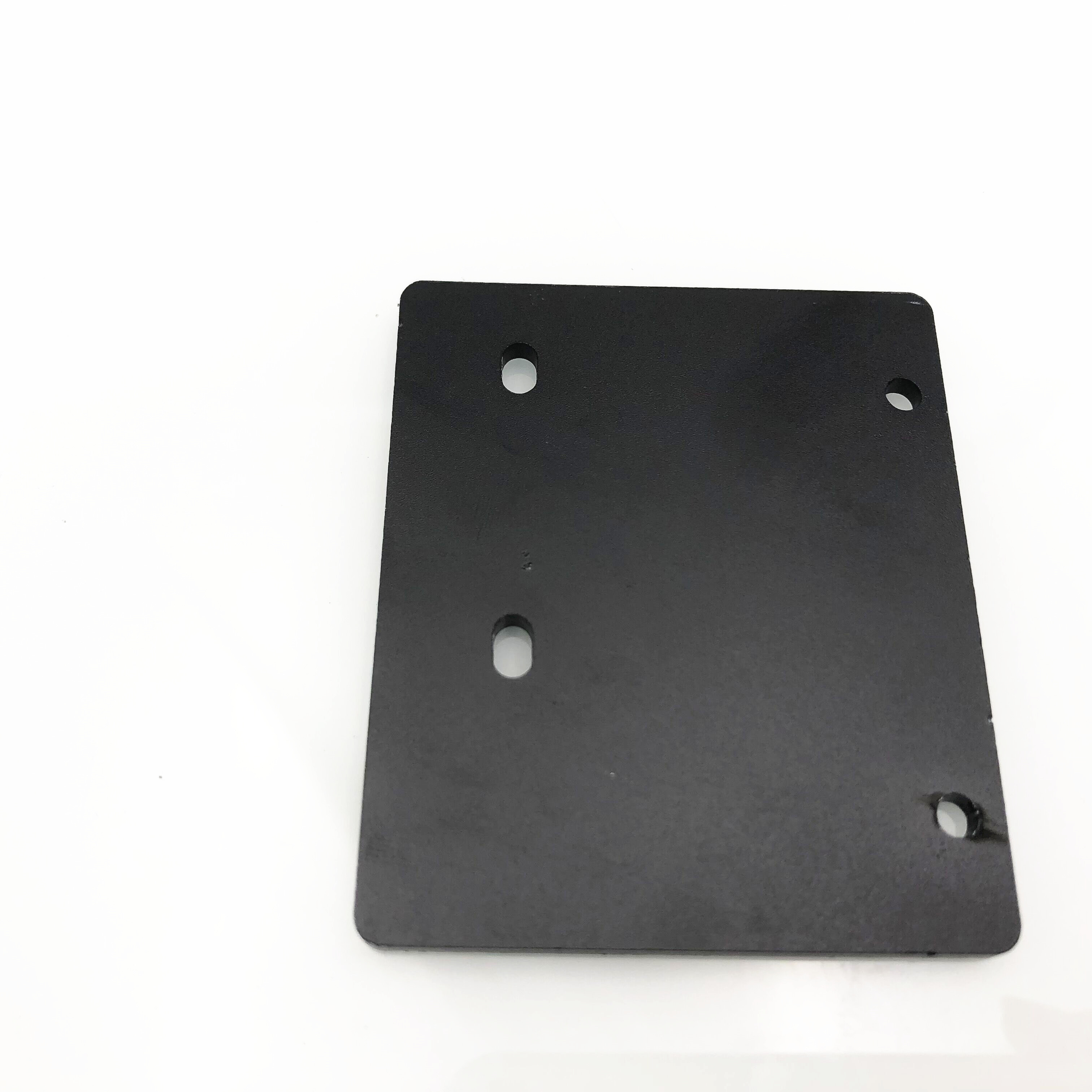 Funssor 1pcs Black color direct drive upgrade plate 3MM thickness for <font><b>Creality</b></font> <font><b>CR10</b></font> <font><b>Pro</b></font> 3D printer image