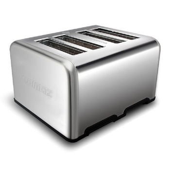 Home Full Automatic Toaster Bakery Toaster 4 Slices Slot Extra Wide Slot Toaster Stainless Steel Bread Toaster for Breakfast 3