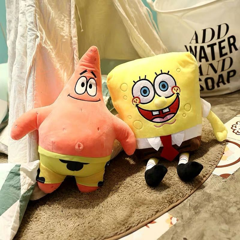 Spongebob Toys Soft-Doll Stuffed Plush-Anime Patrick Star Cute Gift Girlfirend Children