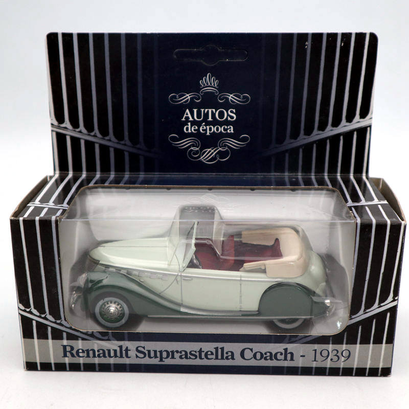 AUTOS De Epoca 1/43 Renault Suprastella Coach 1939 Diecast Toys Car Classic Collection