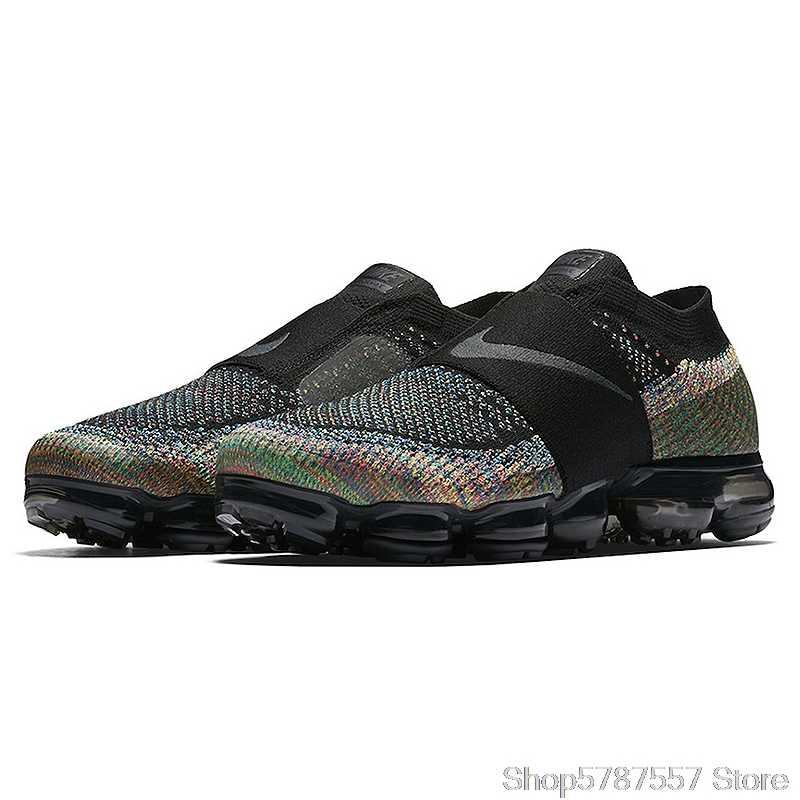 Congelar Pericia Consecutivo  Zapatillas Nike Air VaporMax Moc con cojín de arcoiris, zapatillas  deportivas para hombre, zapatillas de deporte para exteriores de malla  antideslizantes, AH3397 003 transpirables    - AliExpress