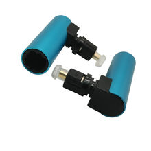 Alta qualidade digital óptico toslink cabo de áudio macho para fêmea adaptador 90 graus ângulo direito 360 conversor rotativo