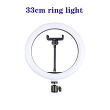33Cm Dimbare Led Selfie Ring Licht Usb Selfie Licht Ring Lamp Grote Fotografie Ringlicht Voor Mobiele Telefoon Studio