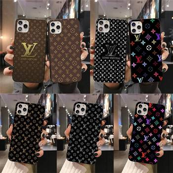 Перейти на Алиэкспресс и купить PENGHUWAN Луи VIP клиент высокое качество чехол для телефона iPhone 11 pro XS MAX 8 7 6 6S Plus X 5S SE 2020 XR чехол