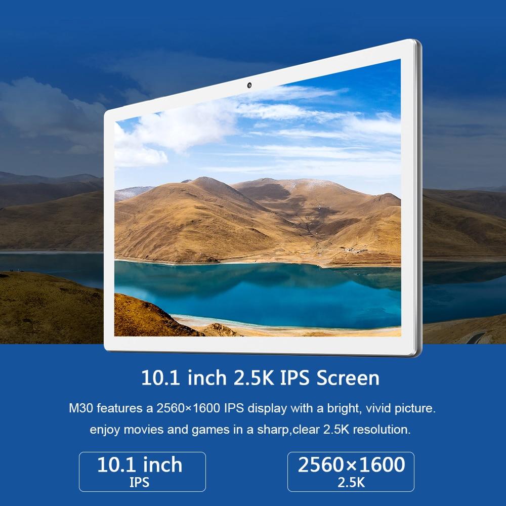 Image 2 - Планшеты Teclast M30 планшетный ПК 10,1 дюймов Andriod 2560*1600 IPS 4G Телефонный звонок ноутбук 4 Гб RAM 128 ГБ ROM Type C GPSПланшеты    АлиЭкспресс